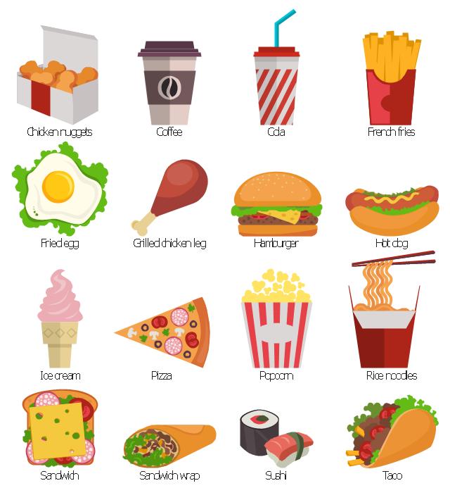 Design Elements Fast Food Fast Food Restaurant Menu Prices