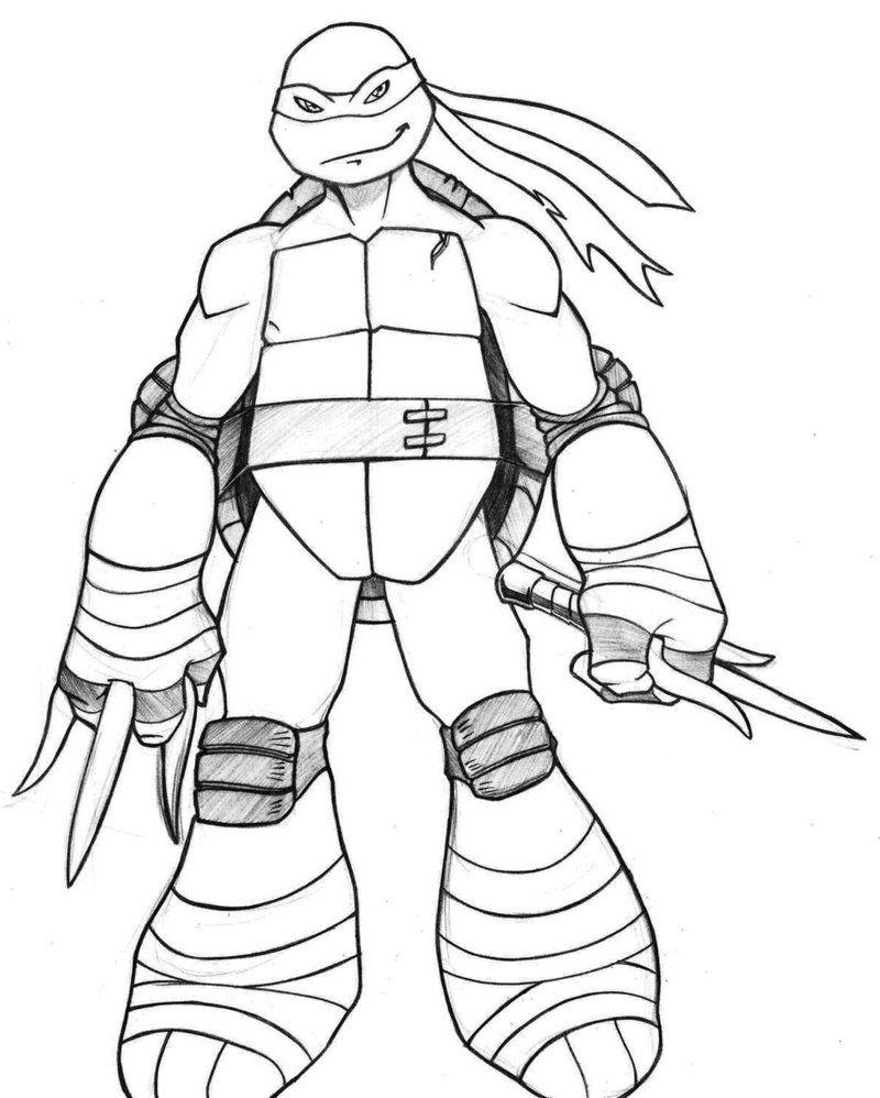 Raphael Ninja Turtles Drawing Clip Art Library