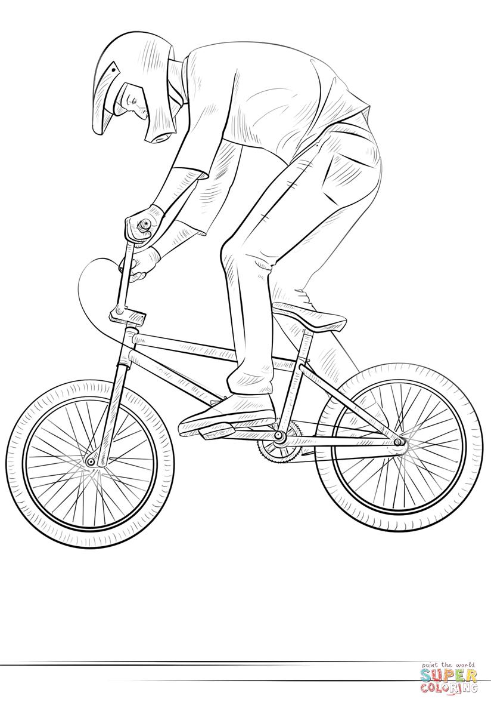 вопрос картинки велосипедиста карандашом поэтапно спинкой обеспечивают