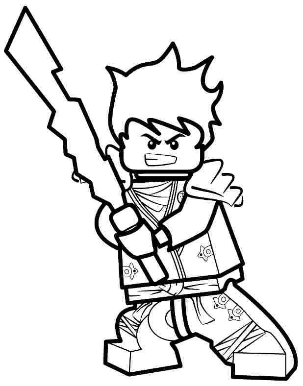 Lego Ninjago Ausmalbilder Jay - Malvorlagen
