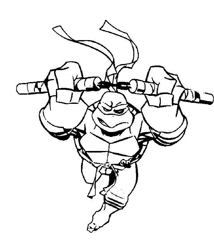 malvorlagen ninja turtles