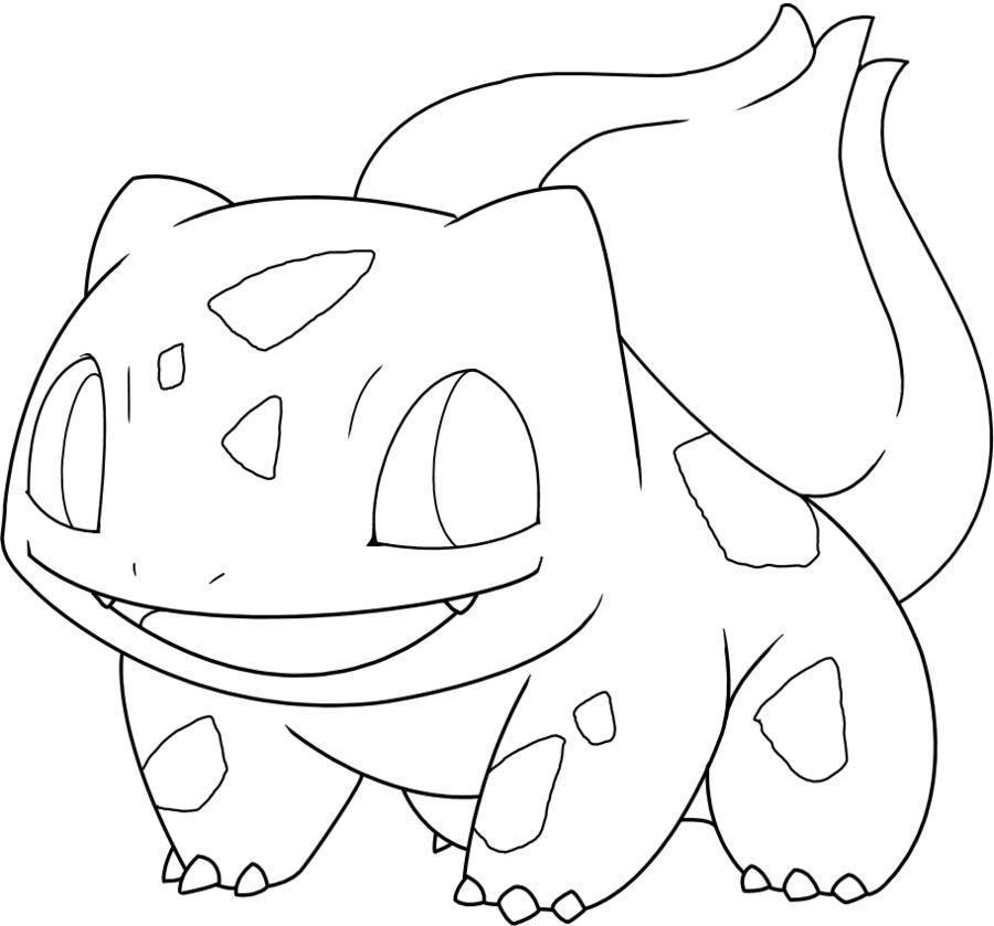 Pokemon Coloring Sheets Bulbasaur Clip Art Library