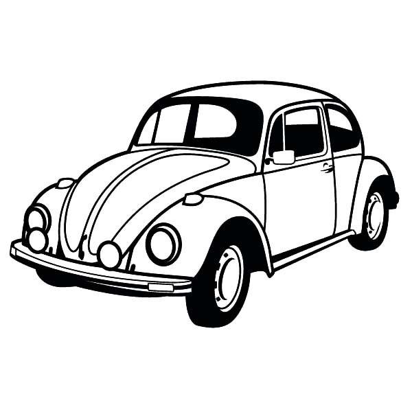 Volkswagen Beetle Clip Art Library