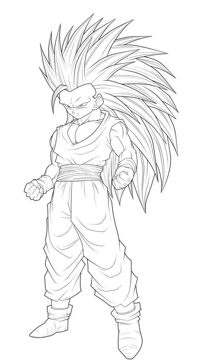 Free Goku Super Saiyan God Coloring Pages Download Free Clip Art