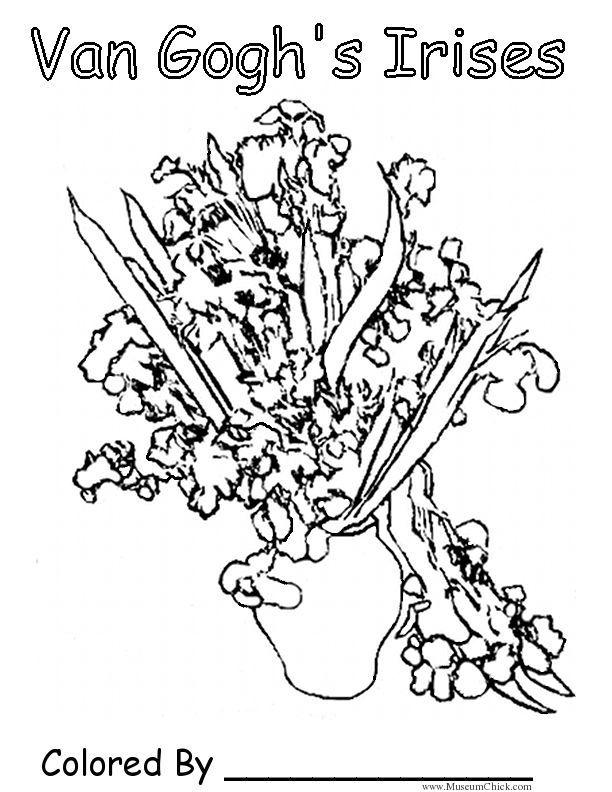 Free Vincent Van Gogh Coloring Pages Download Free Clip Art Free Clip Art On Clipart Library