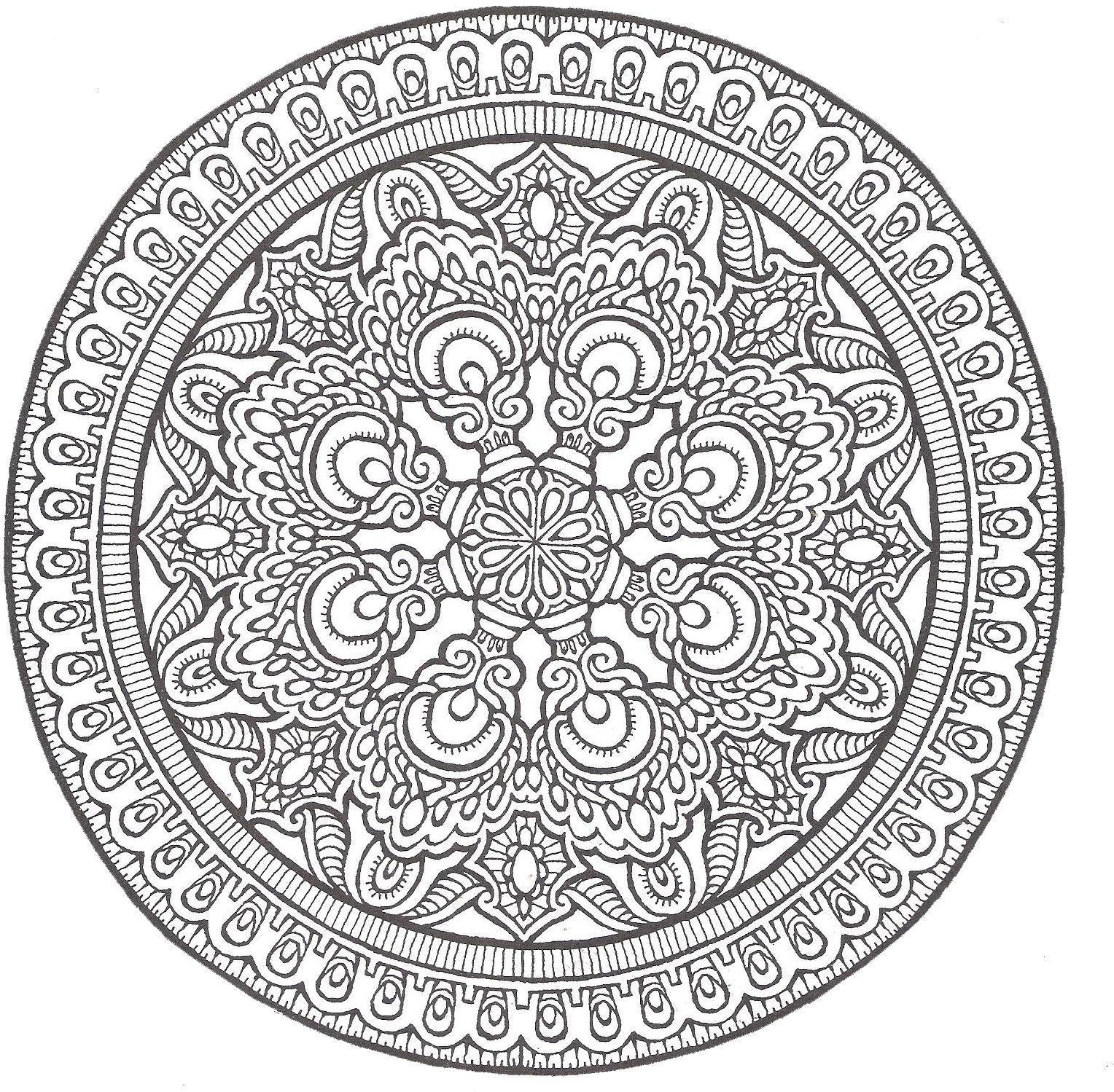 Free Advanced Mandala Coloring Pages Printable Download Free Clip Art Free Clip Art On Clipart Library