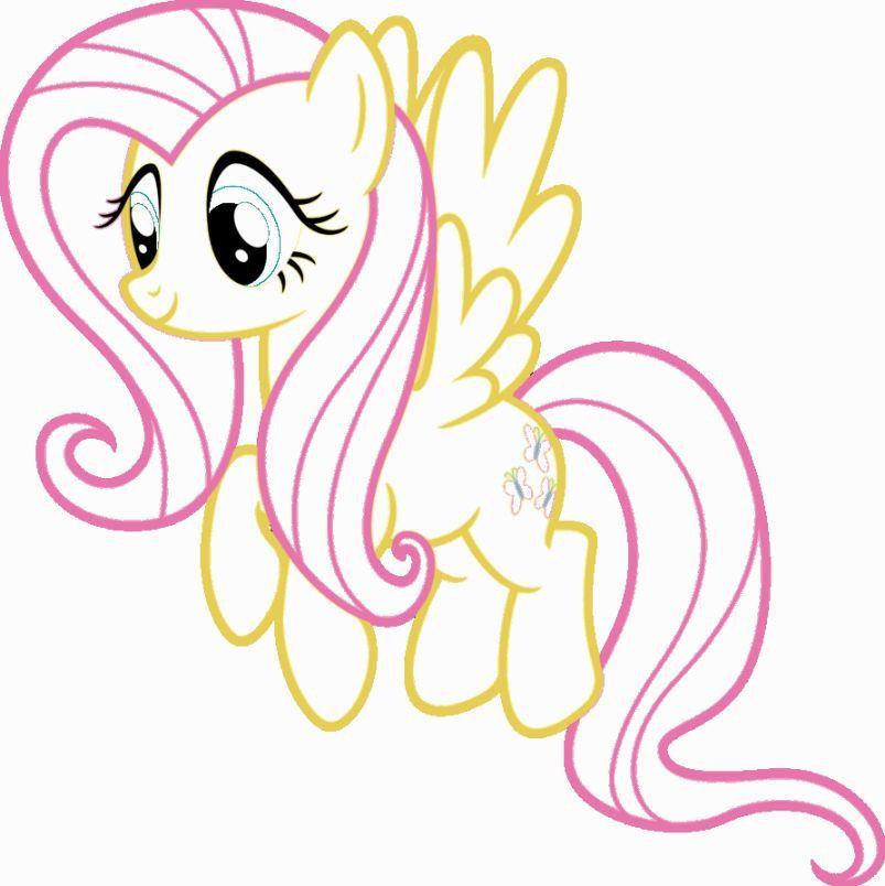 картинки как нарисовать пони флаттершай представляет собой многолетнее