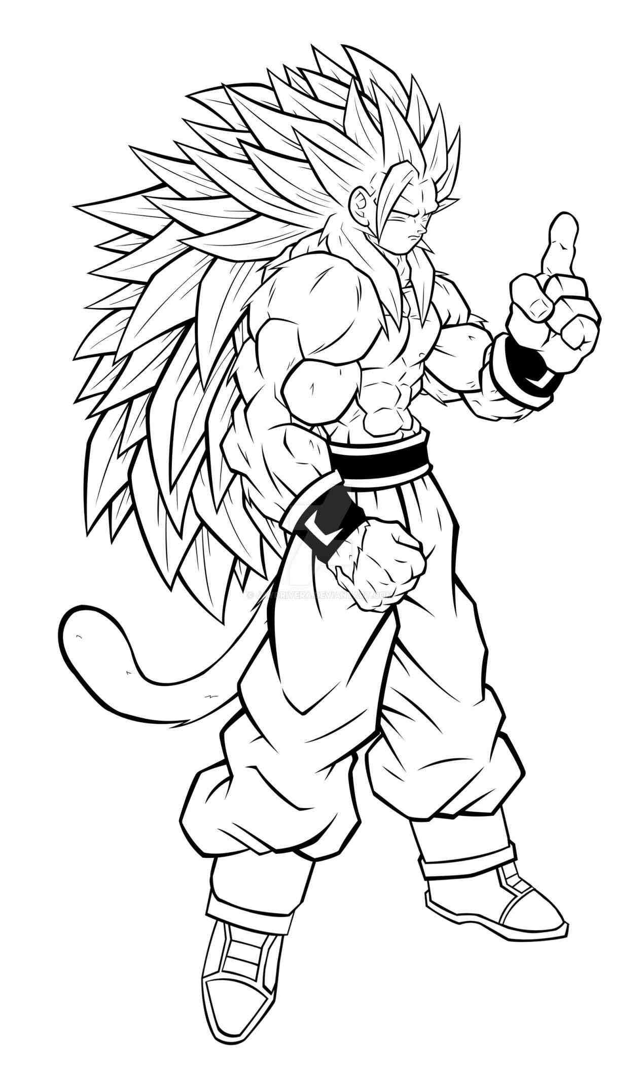 Dragon Ball Z Goku Super Saiyan 5 Drawings Anime Pictures Clip