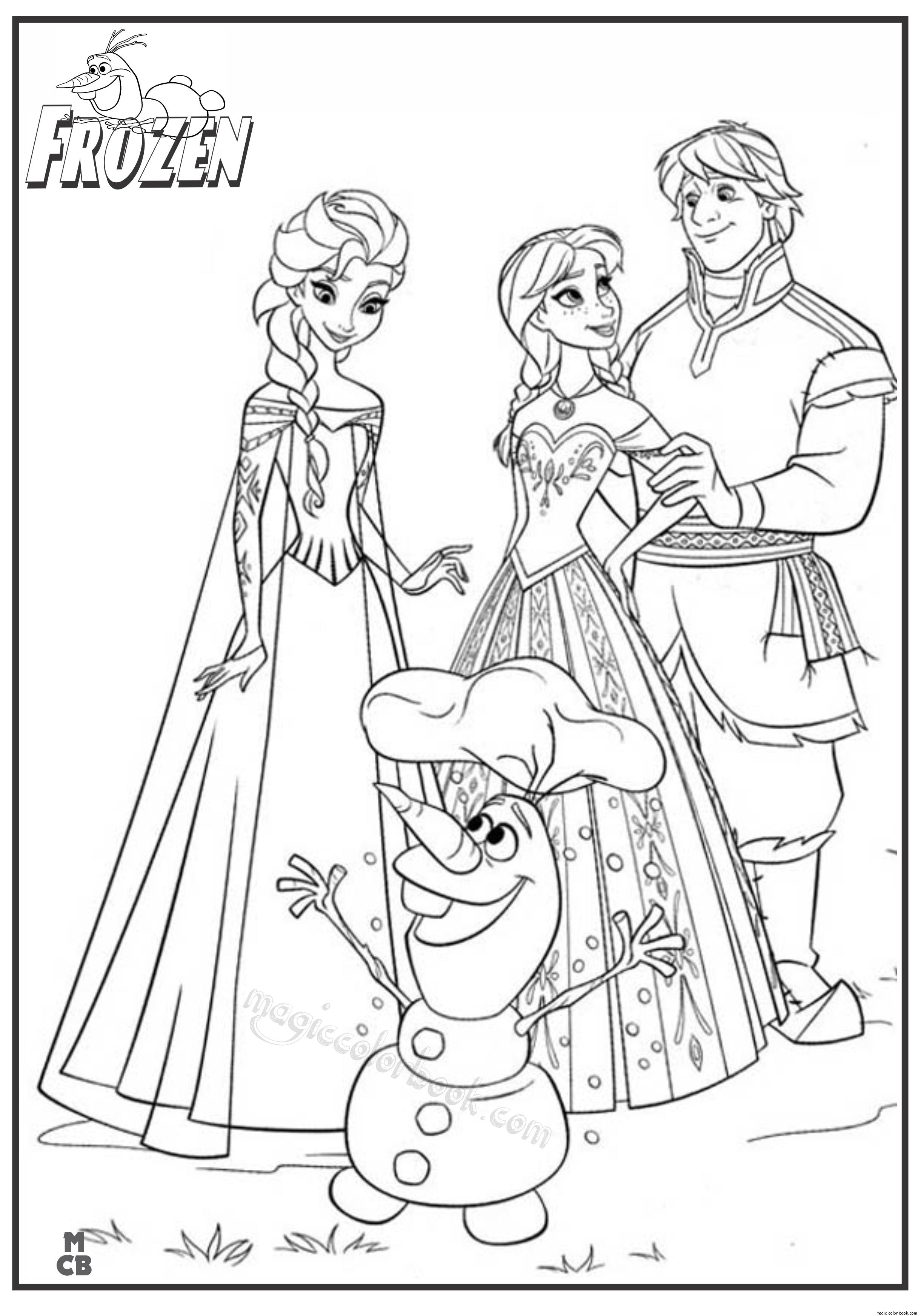 Frozen Disney Princess Coloring Pages Clip Art Library