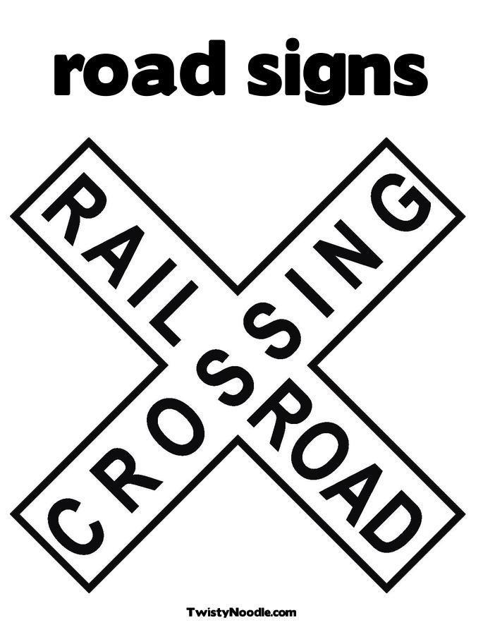 It is an image of Printable Road Sign regarding scavenger hunt