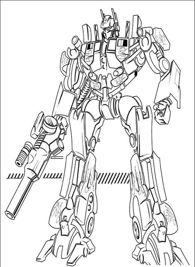 Desenhos Dos Transformers Para Colorir E Imprimir Dibujos Para