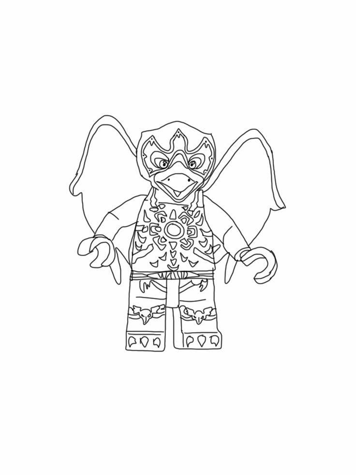 Ausmalbild Lego Chima Rabe Clip Art Library
