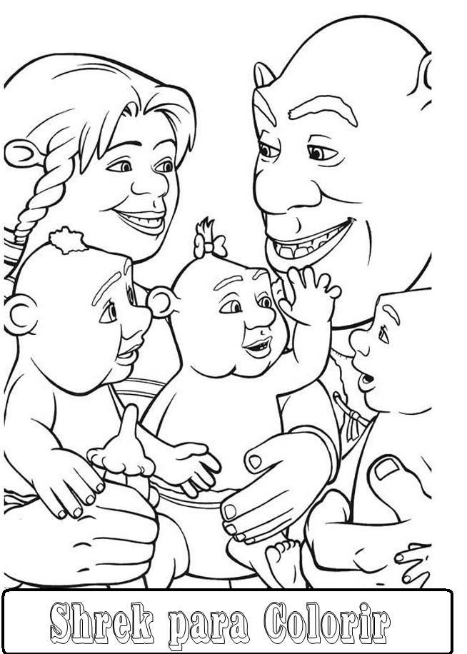 Desenhos Do Shrek Para Colorir Ultra Desenhos Gratis Clip Art