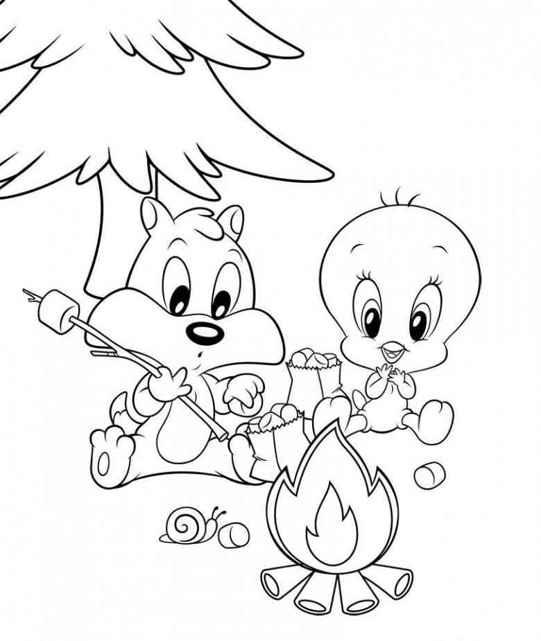 malvorlagen baby looney tunes - malvorlagen