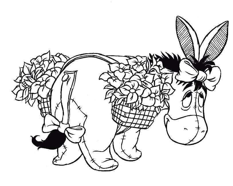 Desenhos Do Ursinho Pooh Para Colorir E Imprimir Winnie The