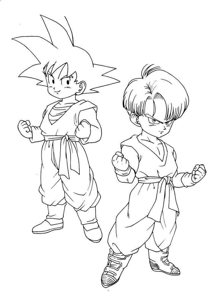Desenhos Para Colorir Dragon Ball Z Pintar Desenhos Clip Art