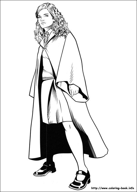 Coloriage Ginny Weasley - Dessin et Coloriage