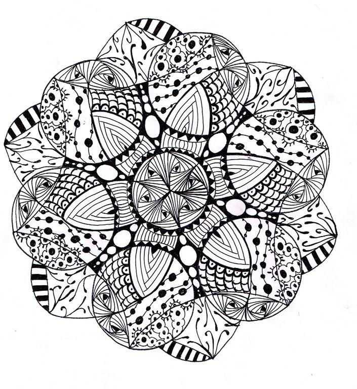 Free Printables Mandala Coloring Pages Mandalas Clip Art Library