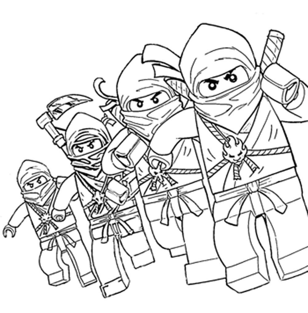 ninjago coloring pages - Clip Art Library