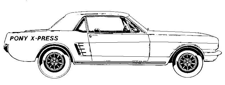 mustang car logo clipart - clip art library