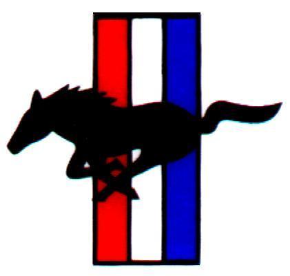 ford mustang logo vector - clip art library