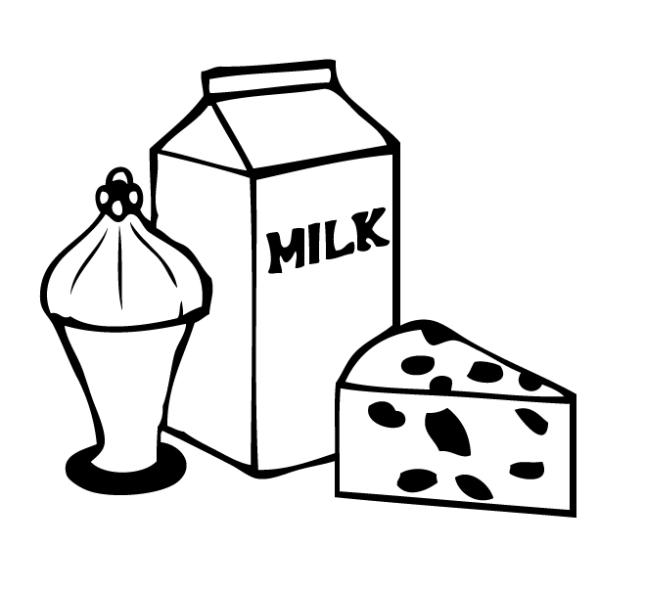 создании раскраска реклама молока родилась