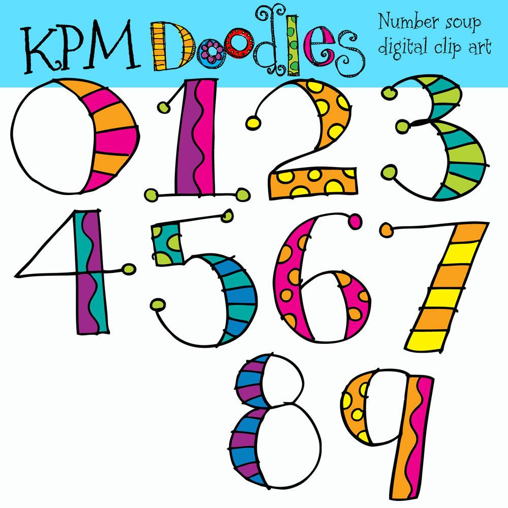 Printable Clip Art Numbers