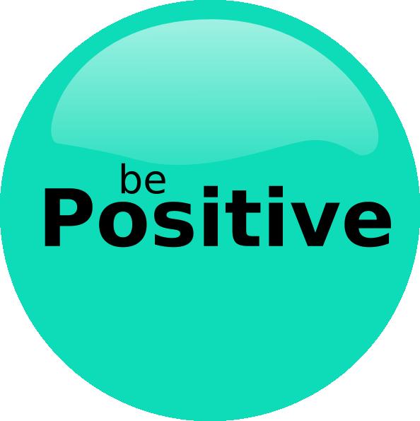 Be Positive Clip Art