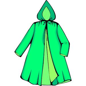 rain jacket clip art