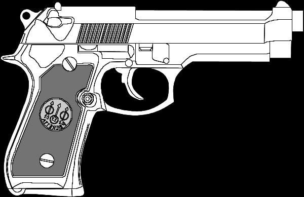 Pistool Kleurplaat Free Handgun Cliparts Download Free Clip Art Free Clip