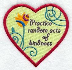 on Kindness Clip Art