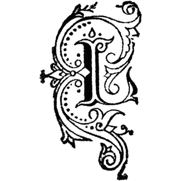 decorative letter l clipart found on polyvore