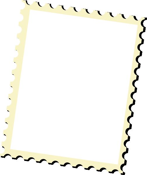 Postage Stamp Clip Art Black And White Free Postal Cli...