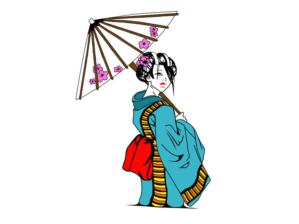 Free Geisha Cliparts, Download Free Clip Art, Free Clip