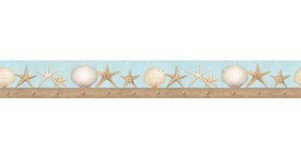 Starfish Border Clip Art Divider
