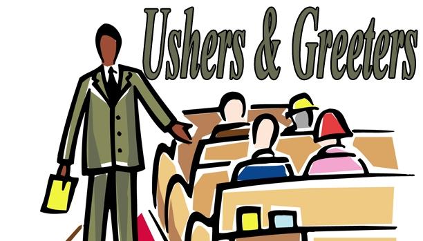 Usher Ministry Clipart