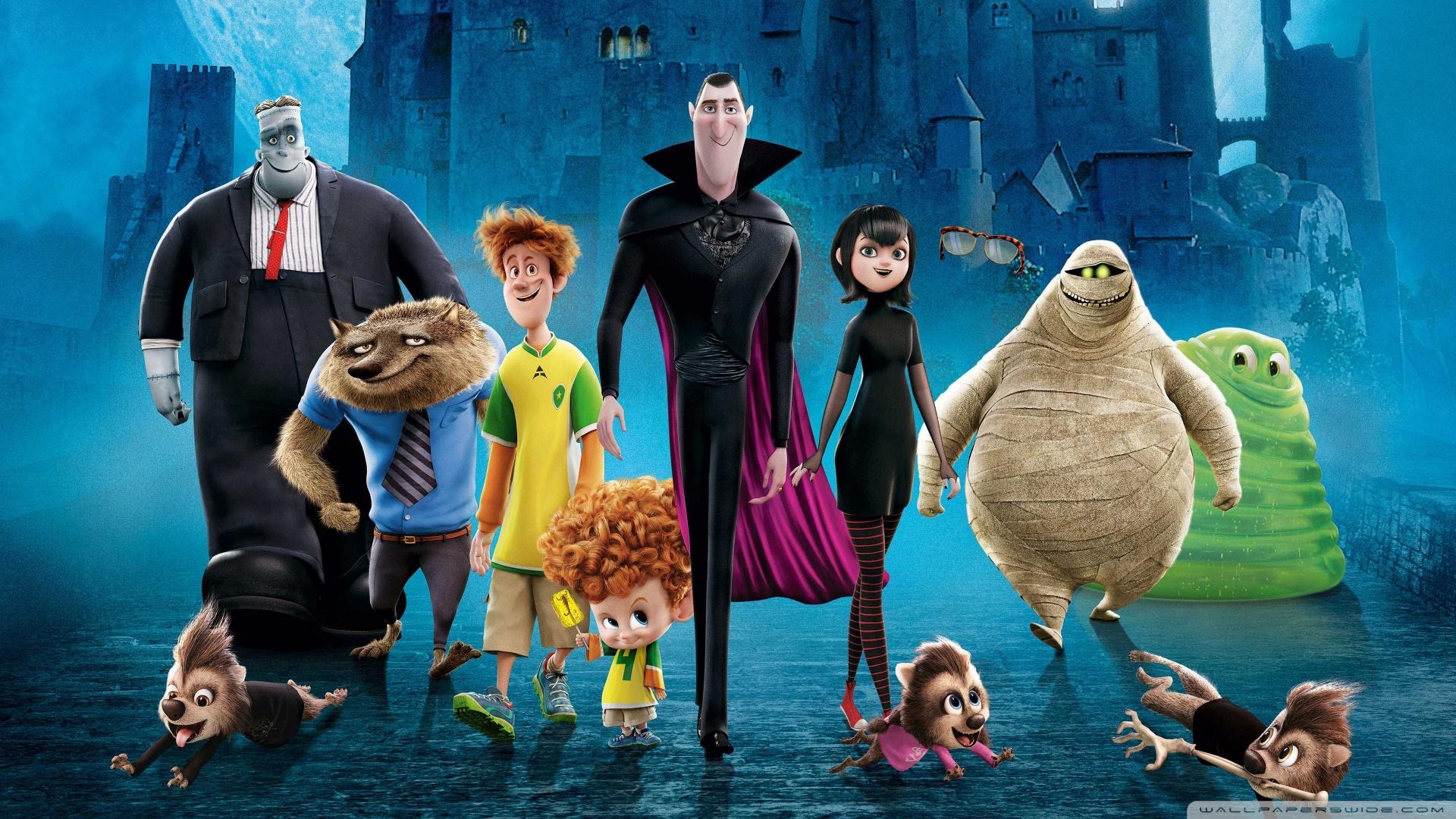 Free Full Cartoon Movies free hotel transylvania 2 cartoon movie hd wallpaper - clip