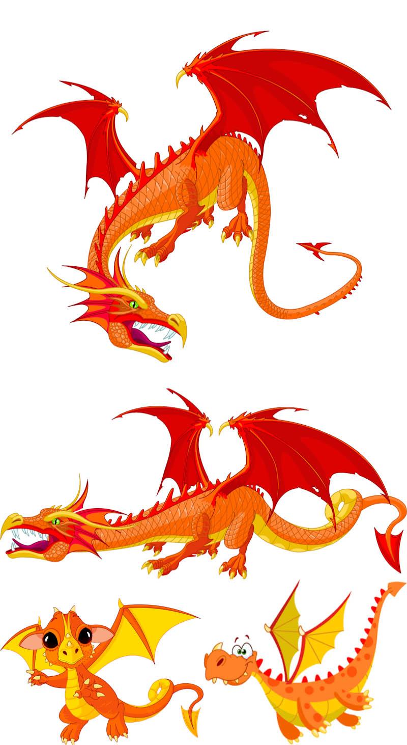 Free dragon vector free download free clip art free clip for Clipart gratis download