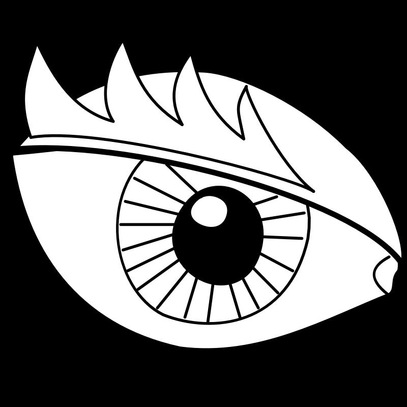 Clipart Eye Oeil Clip Art Library
