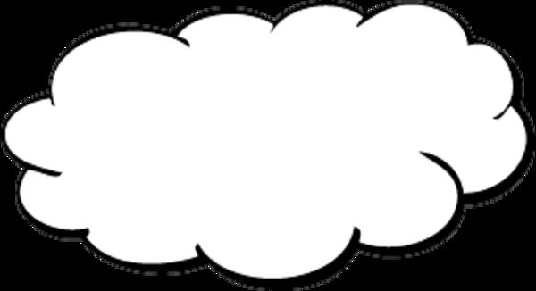 Free Cloud Outline, Download Free Clip Art, Free Clip Art ...