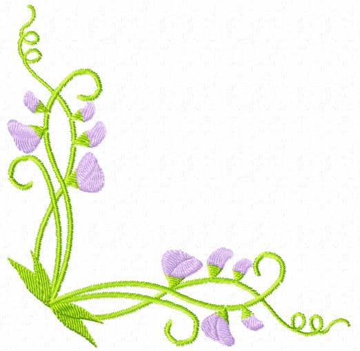 free flower border line design  download free clip art floral designs clipart images Black and White Designs Clip Art