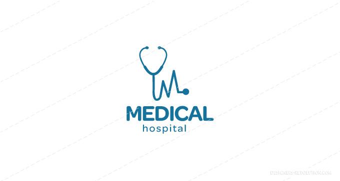 medical logo template vector illustrator ai eps 10 download - clip