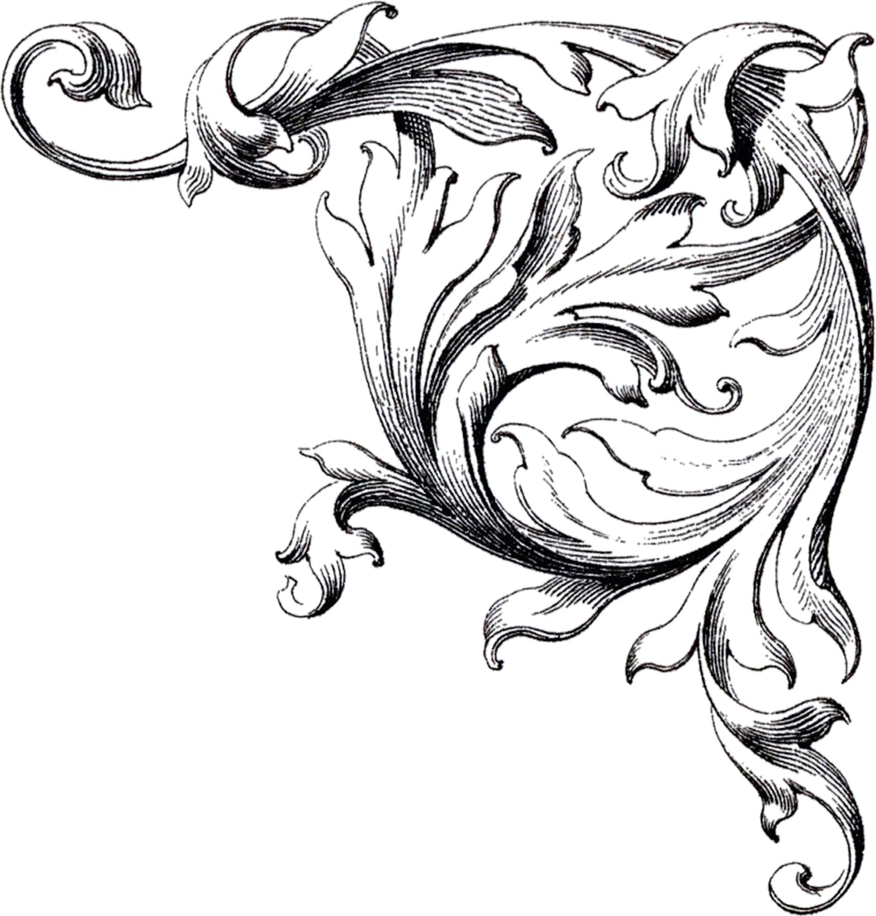 Free Wedding Clip Art Scrolls The Graphics Fairy