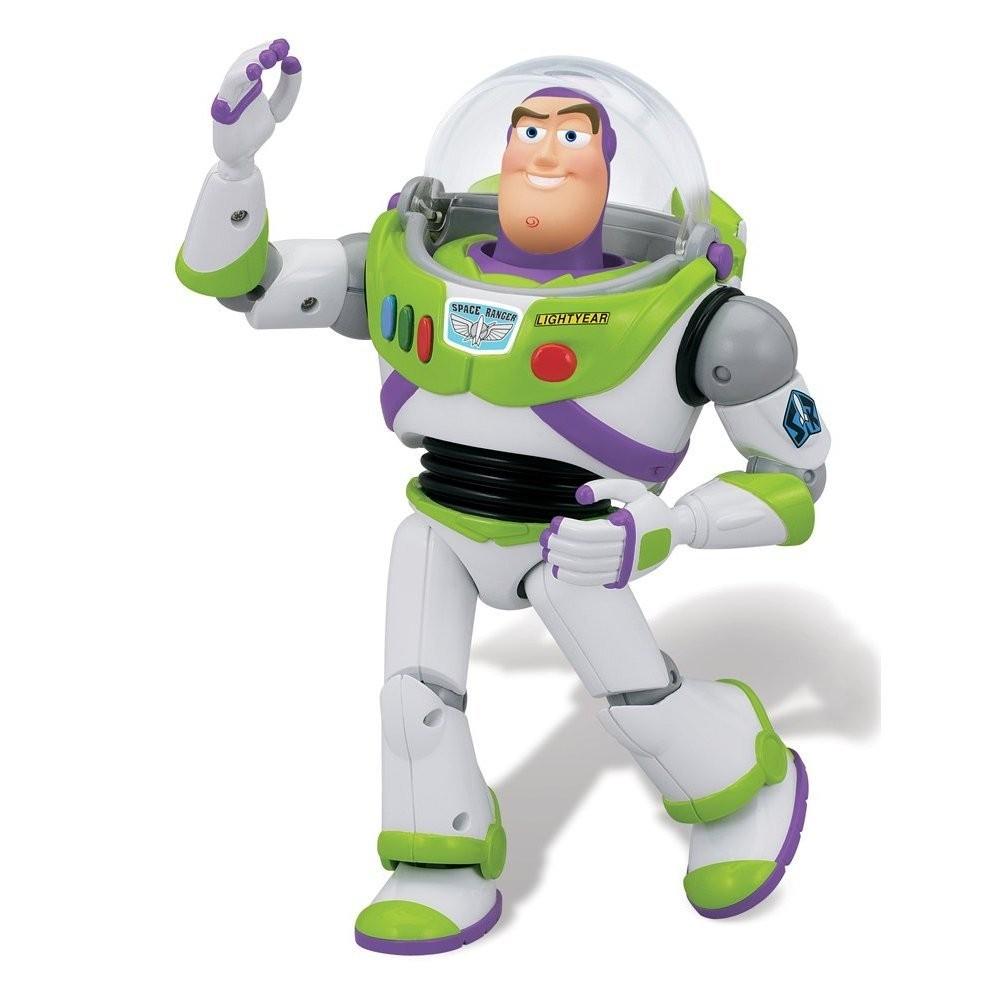 Toy Story Deluxe Space Ranger Buzz Lightyear 6 Figure Clip Art