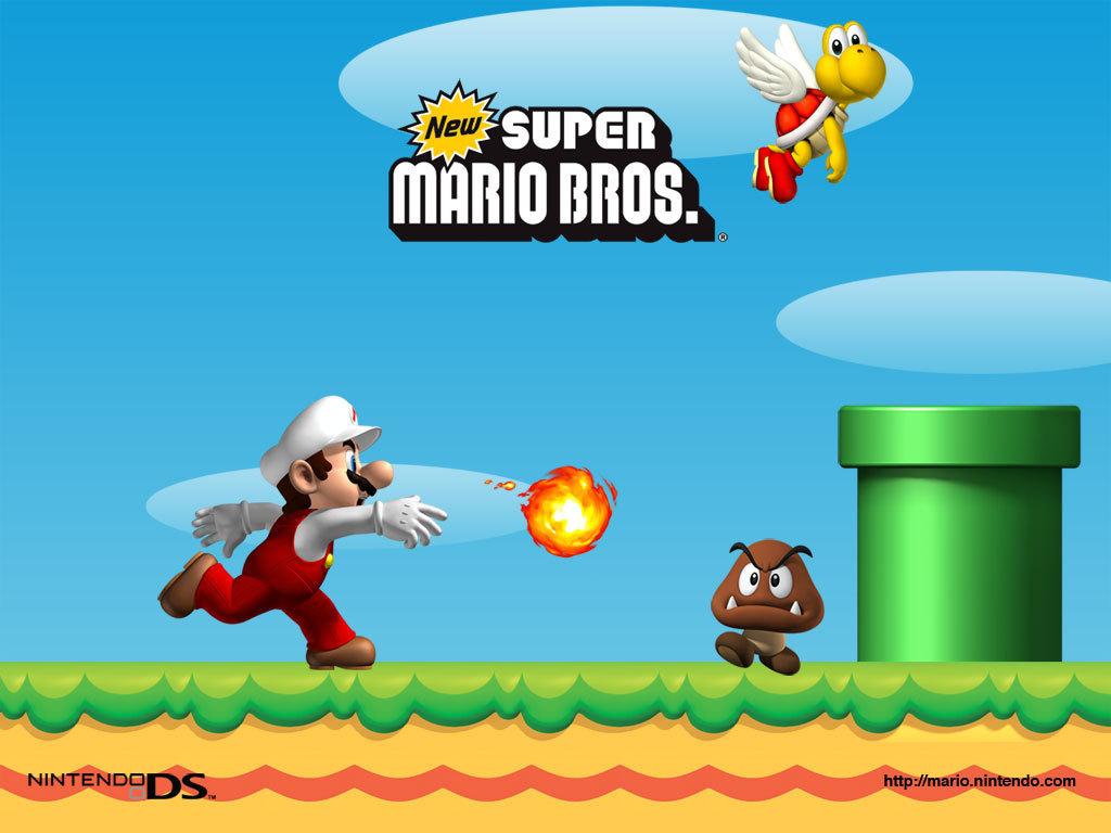 New Super Mario Brothers Super Mario Bros Wallpaper 5601842