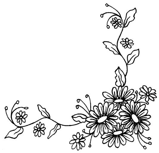 цветы для рамки картинки черно белые сожалению, собак