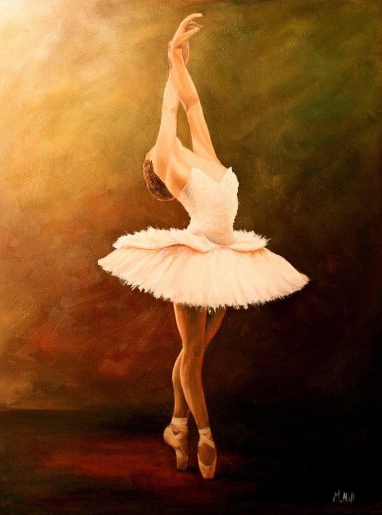 Free Ballerina Zeichnung Download