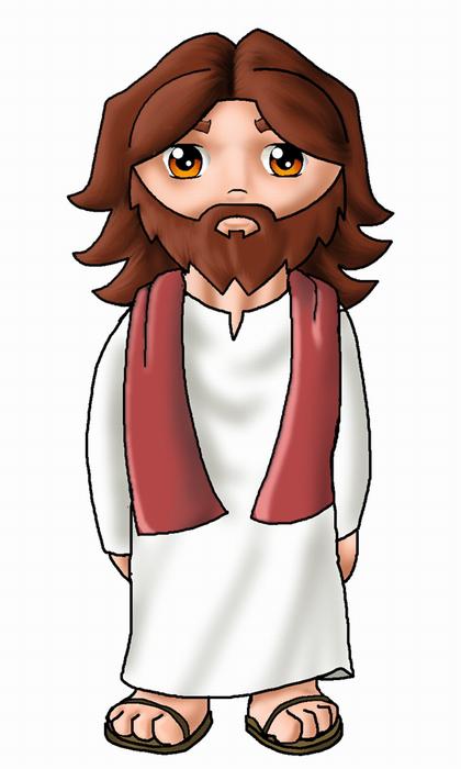 Christian Art Animated Jesus