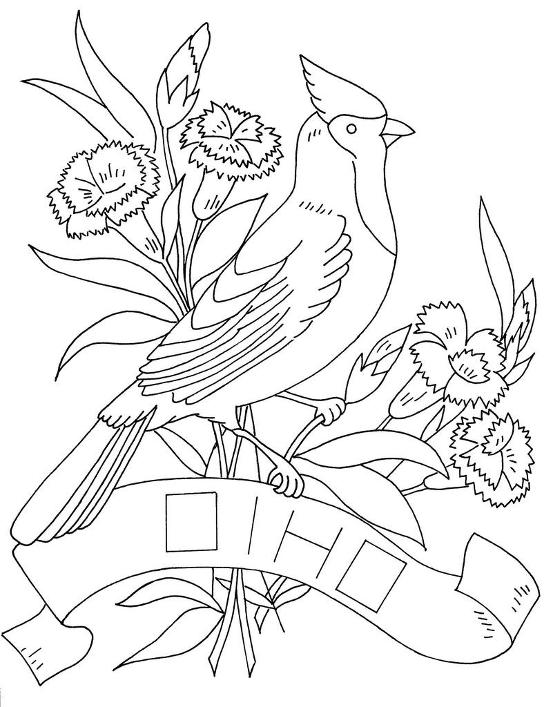 Free Ohio State Bird, Download Free Clip Art, Free Clip ...