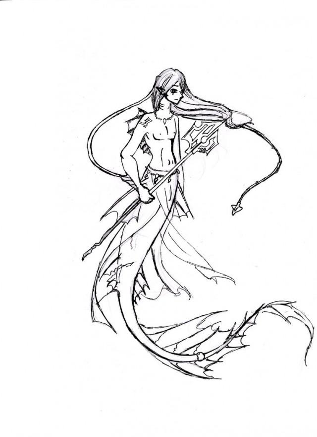 Free Cartoon Mermaid Pictures
